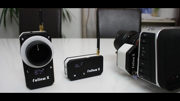 follow X - Wireless Follow Focus, Aperture and Cameracontrol