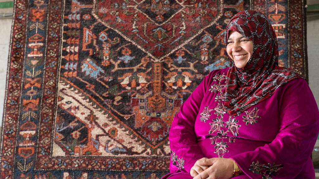 Empowering Syrian Refugees With Handcrafted Heirloom Rugs project video thumbnail