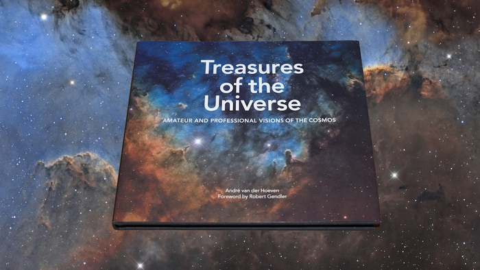 A unique book with over 50 views of the most beautiful places in the cosmos seen by professional as well as amateur astrophotographers