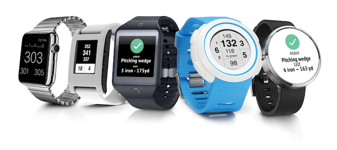 Compatible with Apple Watch, Pebble, Samsung Gear, Android Wear, and Magellan models.