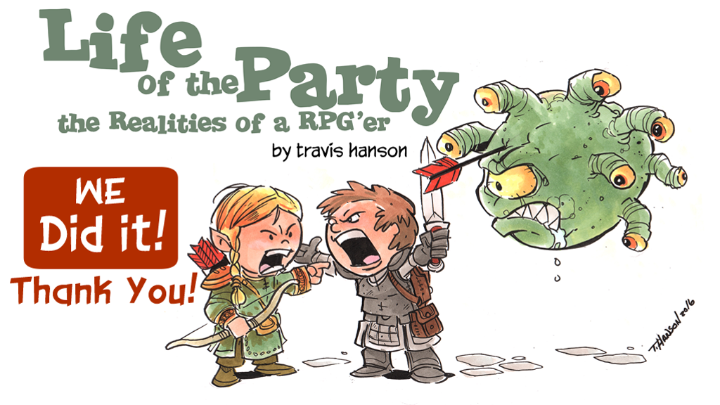 Life of the Party: The Realities of an RPG'er project video thumbnail