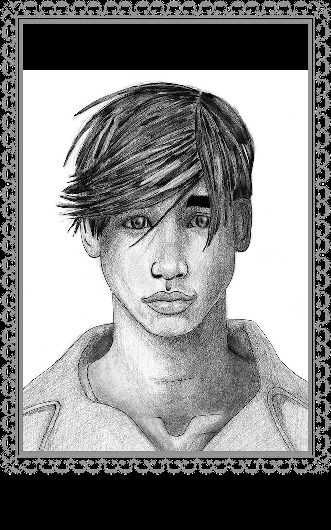 Portrait in final illustration form