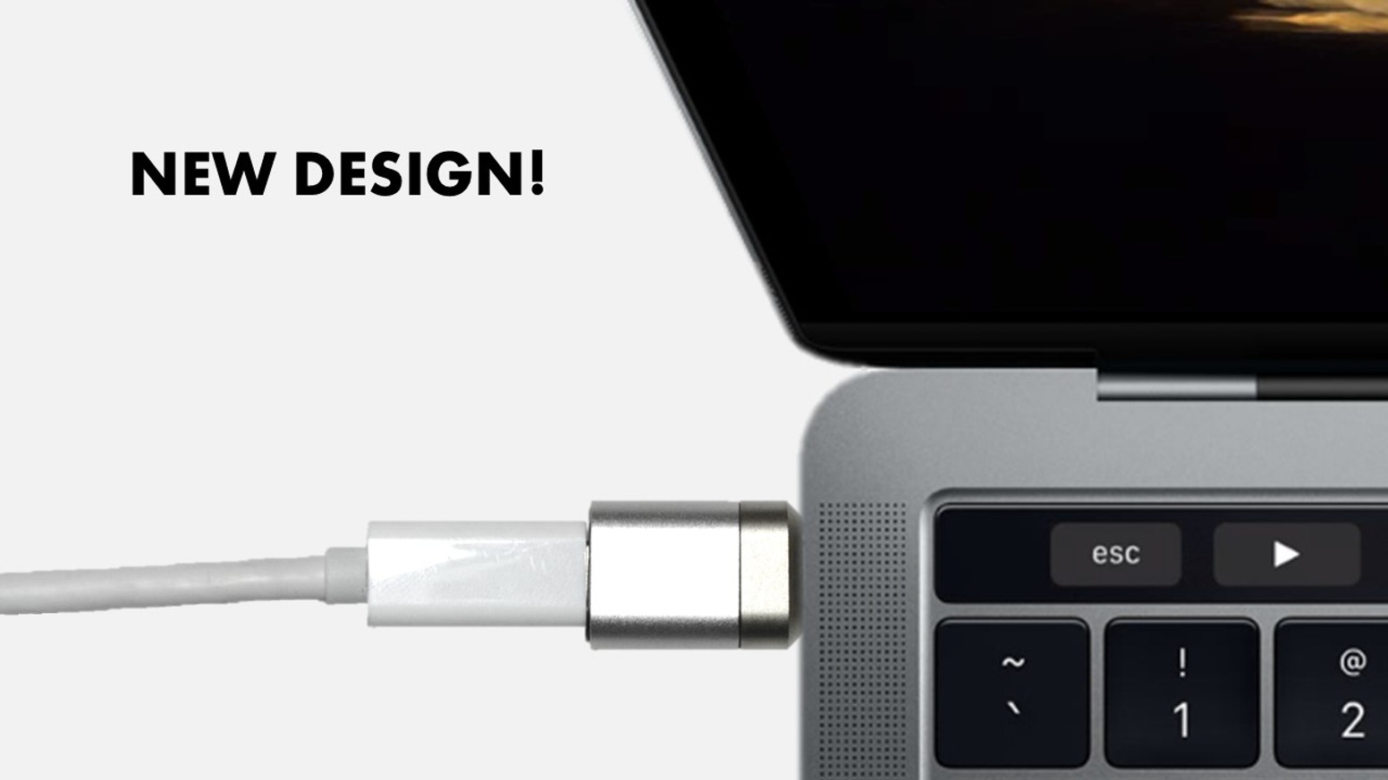 The Only MagSafe style USB-C Adapter with Charging + Data + Video. For all USB-C Notebooks, Tablets and Smartphones + 2016 Macbook Pro.