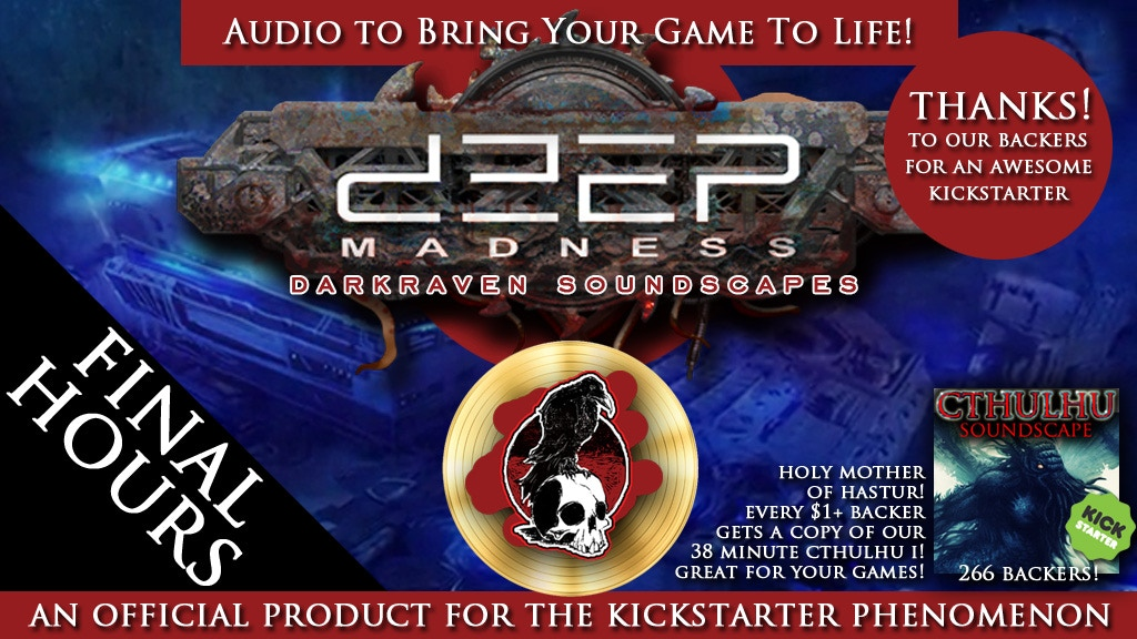 DEEP MADNESS Horror Soundscapes by Darkraven Europe project video thumbnail