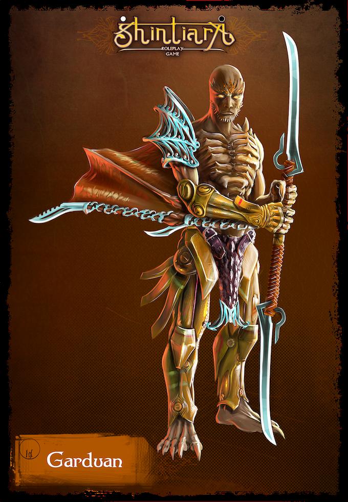 Heroic Mercenary Garduan