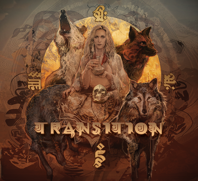 TRANSITION cover art by Android Jones