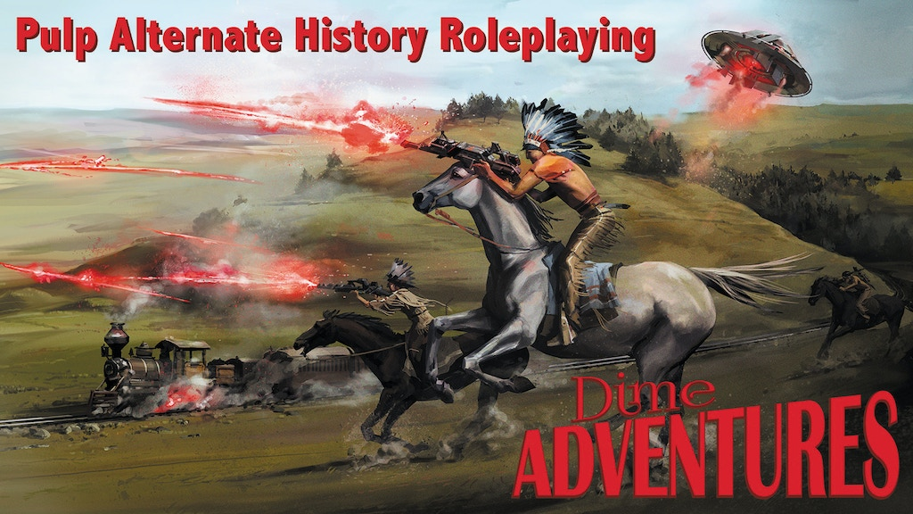 Dime Adventures: Pulp Alternate History Roleplaying project video thumbnail