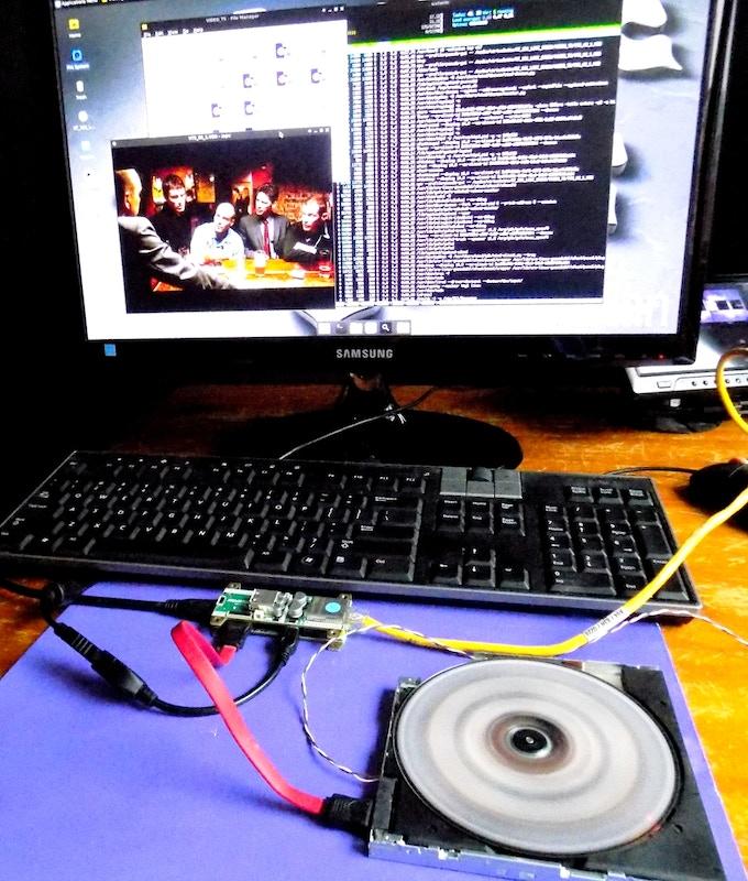 Playing DVD via SATA