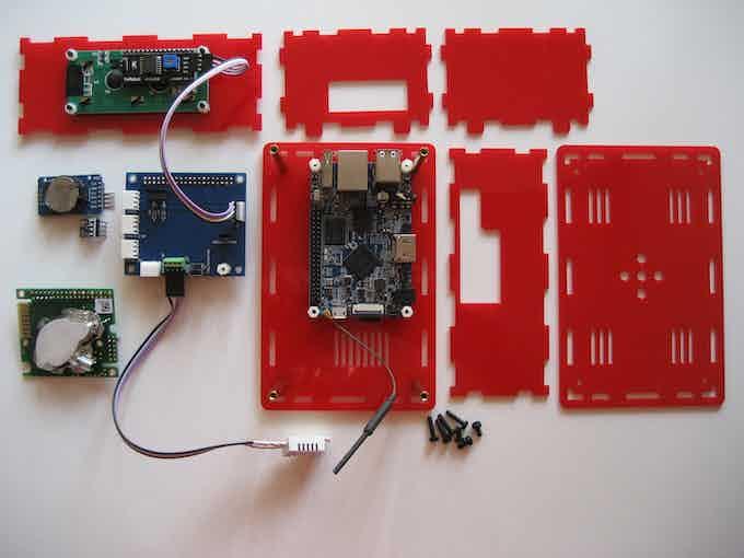 LiV Pi components