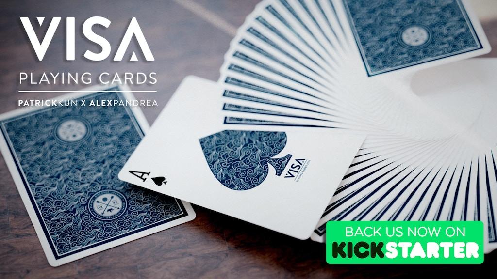 VISA Playing Cards : Patrick Kun x Alex Pandrea project video thumbnail