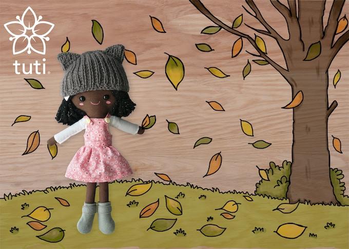 Winter hat Tuti - Only on Kickstarter