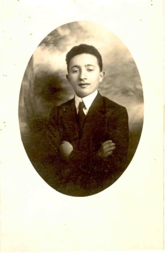 Young Uncle Ben in Bialystok