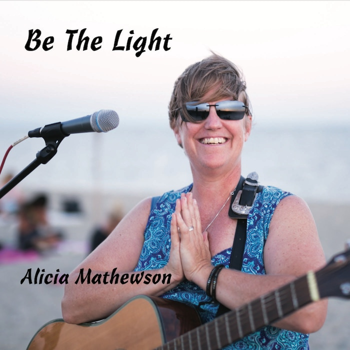 9 tracks of Alicia Mathewson recorded live chanting on Cape Cod & 2 new studio songs: Be The Light & Freedom is an Inside Job
