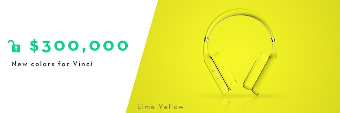 Vinci (Lime Yellow) unlocked!