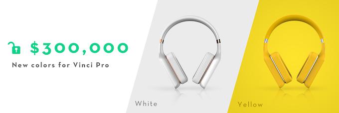 Vinci Pro (White and Yellow) unlocked!
