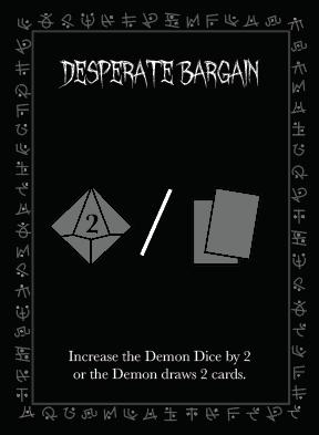 Desperate Bargain Ritual promo card artwork.