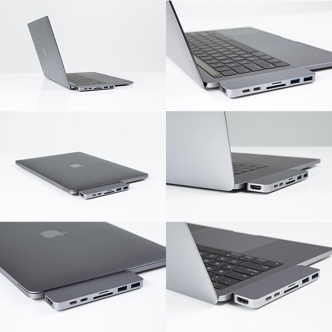 HyperDrive: Thunderbolt 3 USB-C Hub for 2016 MacBook Pro by