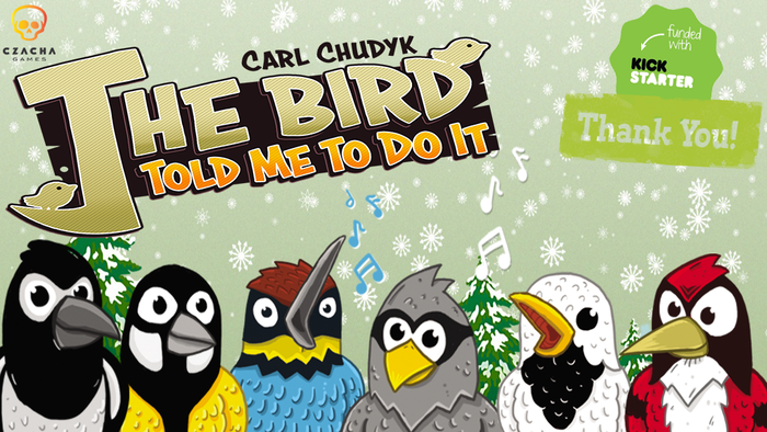 In new game by Carl Chudyk The Bird Told Me To Do It you must cooperate to build the branch of a tree home to various species of birds.