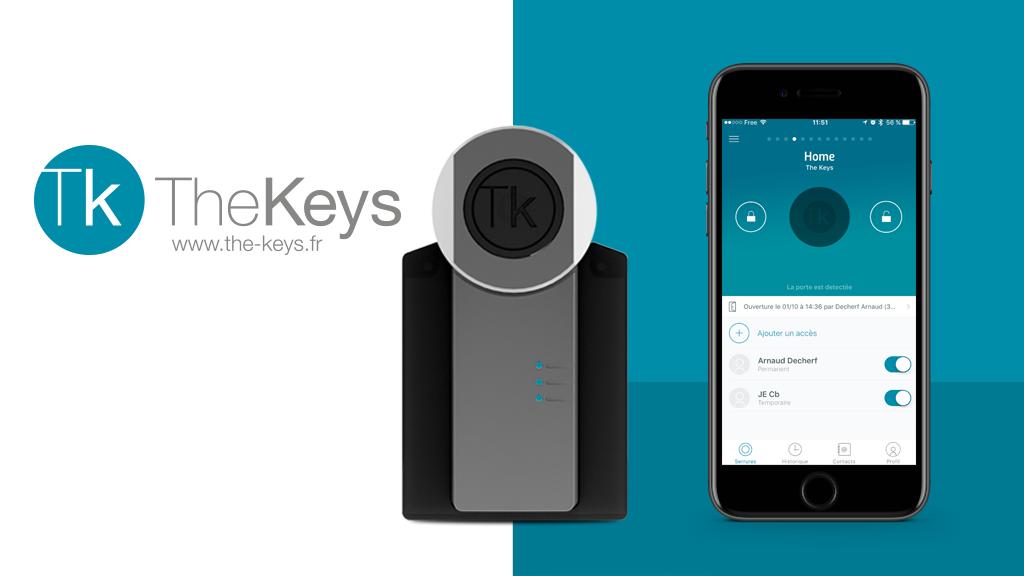 Serrure connectée The Keys - partagez et contrôlez les accès project video thumbnail