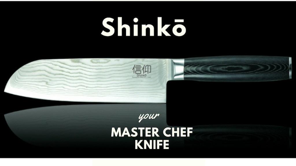 shink master chef knife by adrian macoveanu kickstarter. Black Bedroom Furniture Sets. Home Design Ideas
