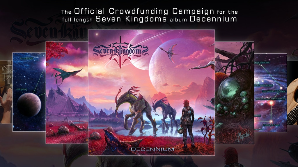 Seven Kingdoms - 'Decennium' Limited Release project video thumbnail