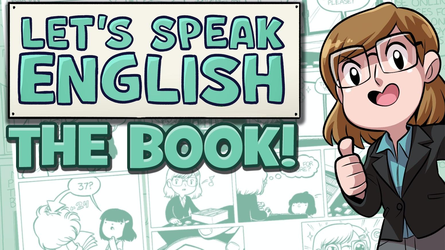 Let's Speak English - The Book!