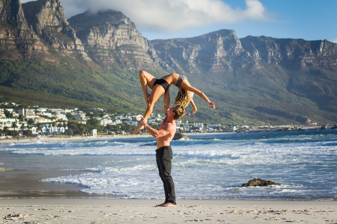 """Nicole and James soar at Glen Beach. """"I feel like I can express anything through dance, meet the most fabulous people..."""""""