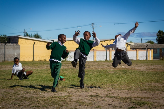 Dance is joy. These boys jumped and danced endlessly while watching one of our photoshoots...