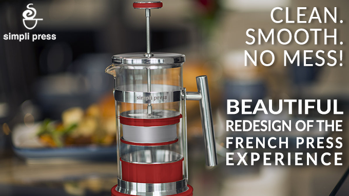 French Press, But Better. Designed to bring out more flavors in your coffee in less time, with an easier cleanup! Life just got better.