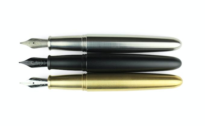 PIUMA - Titanium, Matte Black Aluminum, Brass