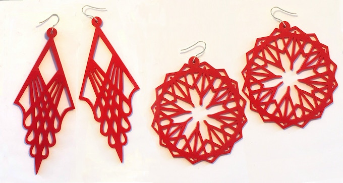 Earrings - $50