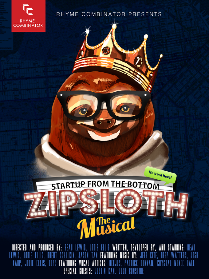 ZipSloth the Musical: Show POSTER