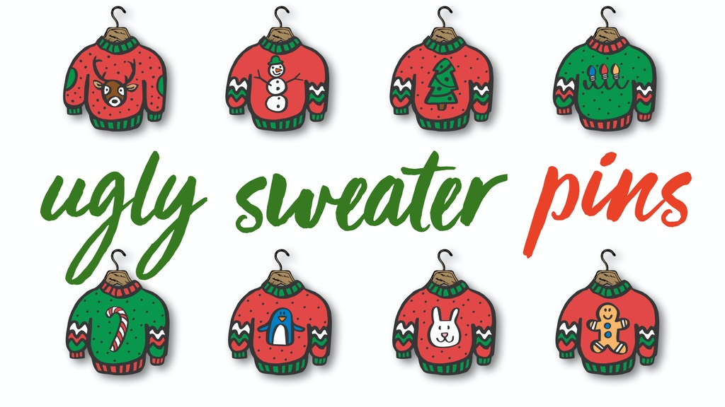 Project image for Ugly Christmas Sweater Pins (Canceled)