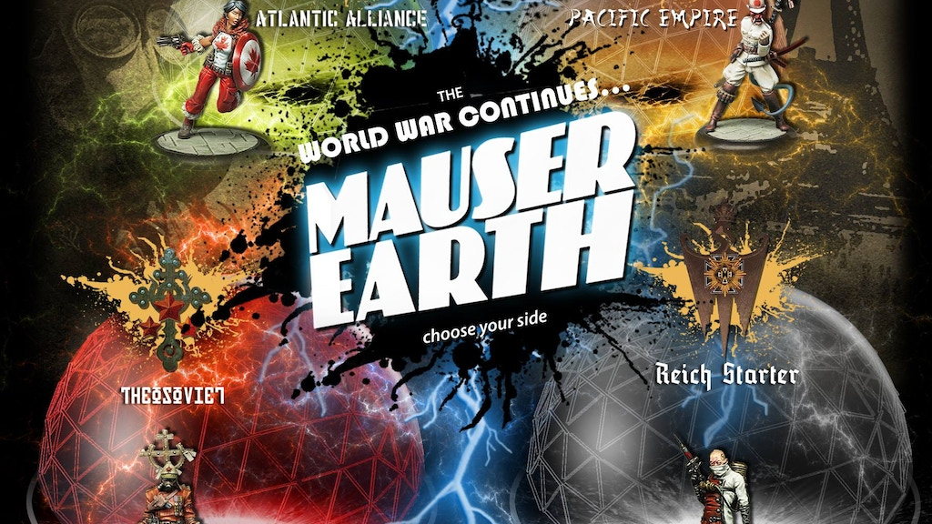 Project image for Mauser Earth: War for Paris - A Dieselpunk Miniatures Game