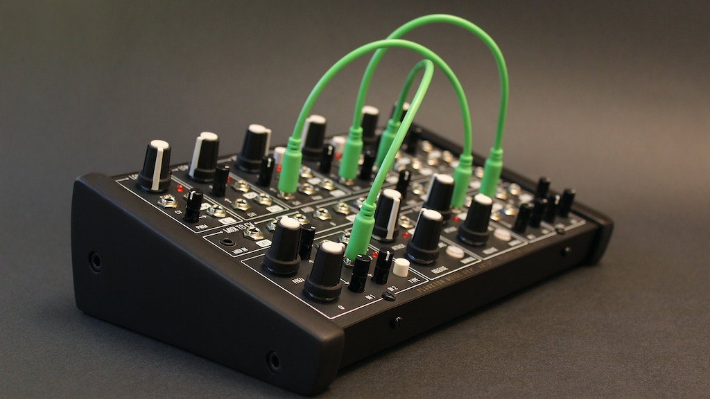 Ants! Analog semi-modular synthesizer by PLANKTON