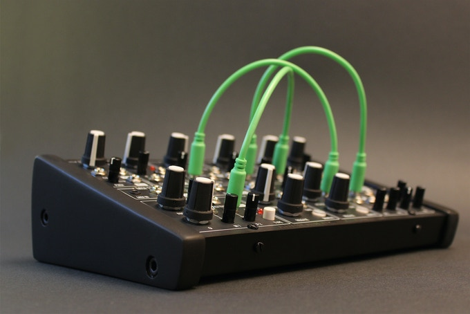 ants analog semi modular synthesizer by plankton electronics kickstarter. Black Bedroom Furniture Sets. Home Design Ideas