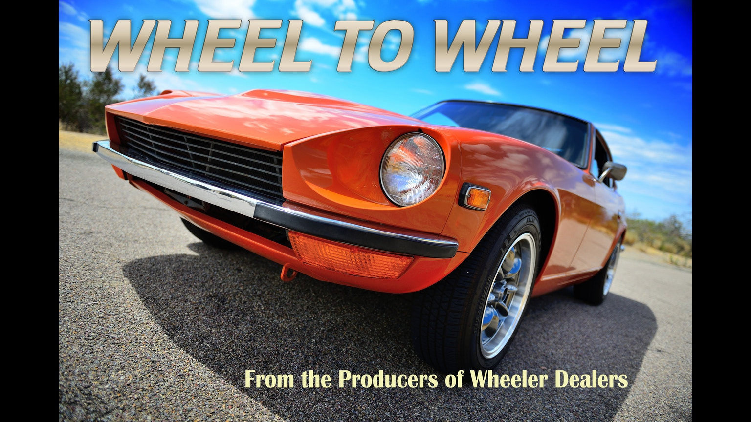 Car Restoration Tv Shows >> Wheel to Wheel - Car Restoration TV Series by Andrew Shaw