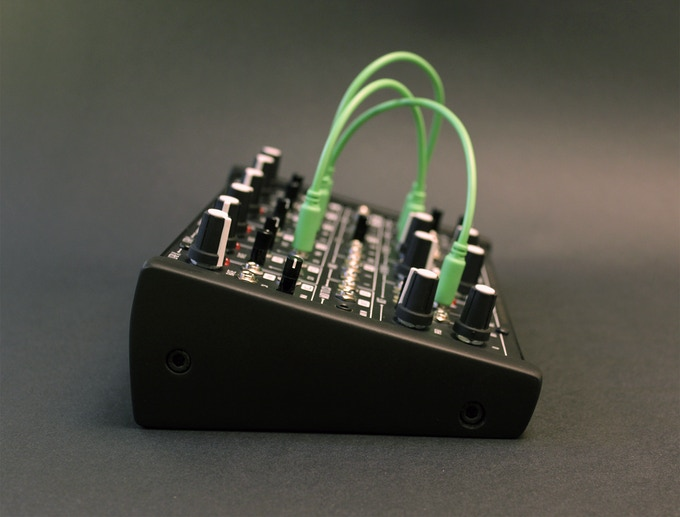 ants analog semi modular synthesizer by plankton electronics kickstarter. Black Bedroom Furniture Sets. Home Design Ideas