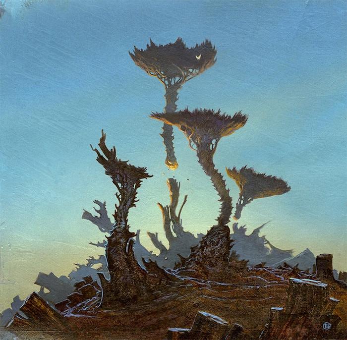 Accidental Alien Landscape