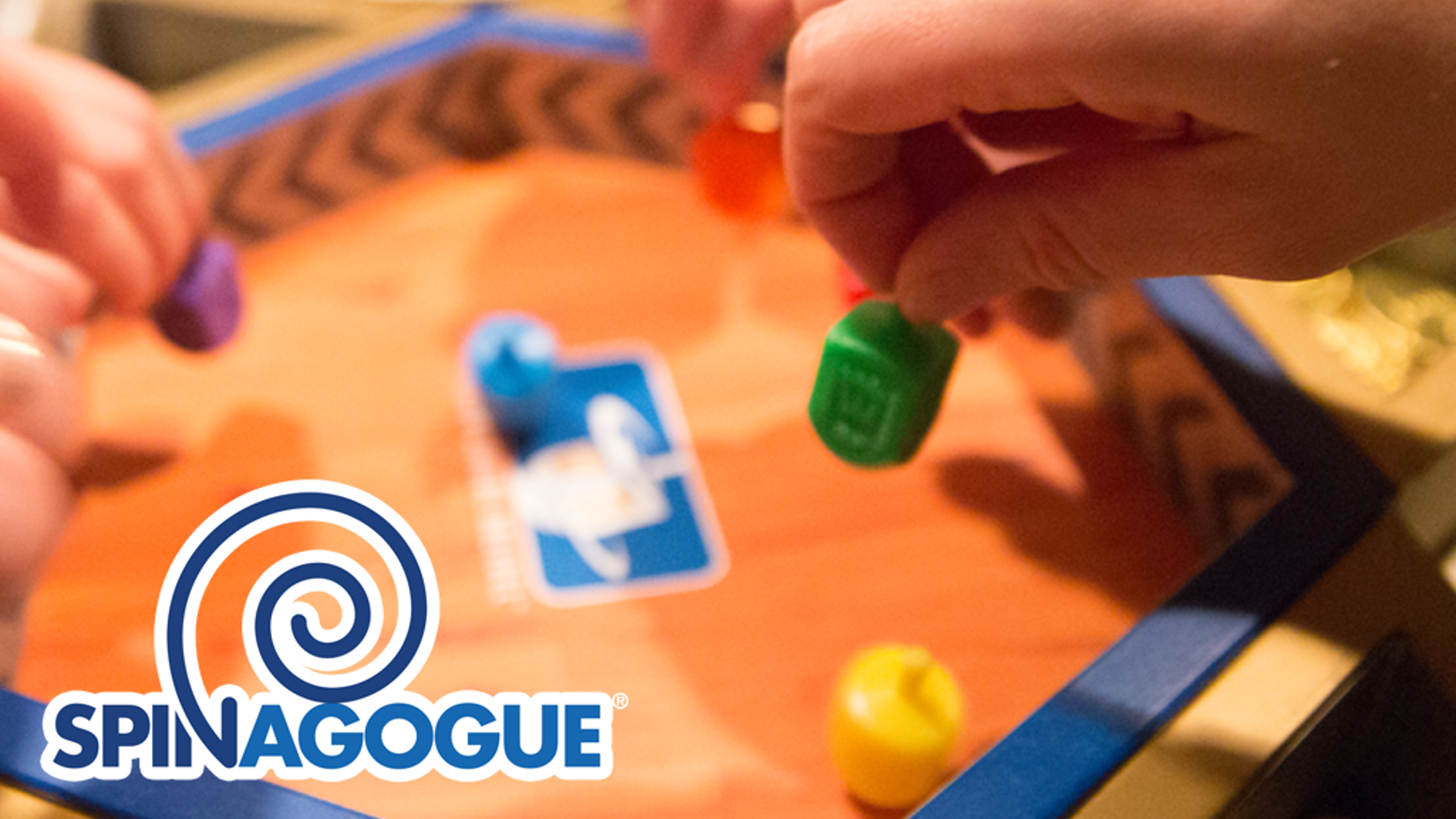 Dreidel is now a tabletop game of skill, played competitively and socially by spinners of all ages. No Gelt, No Glory!