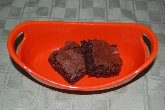 Brownies from Brownie Mix