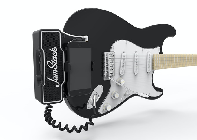 JamStack - The World's First Attachable Guitar Amplifier by