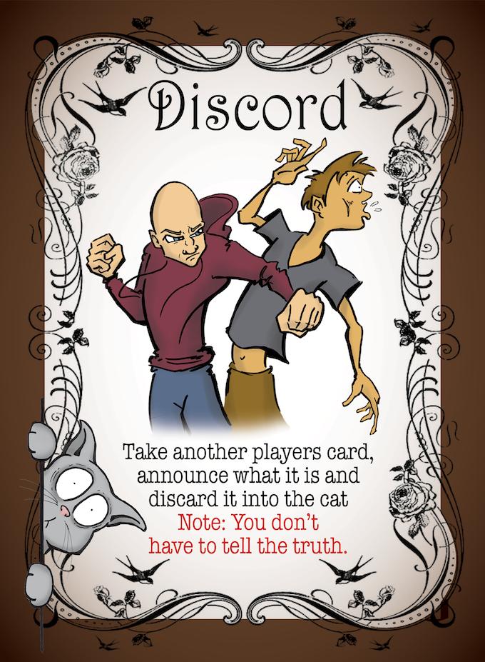Sample Discord Card