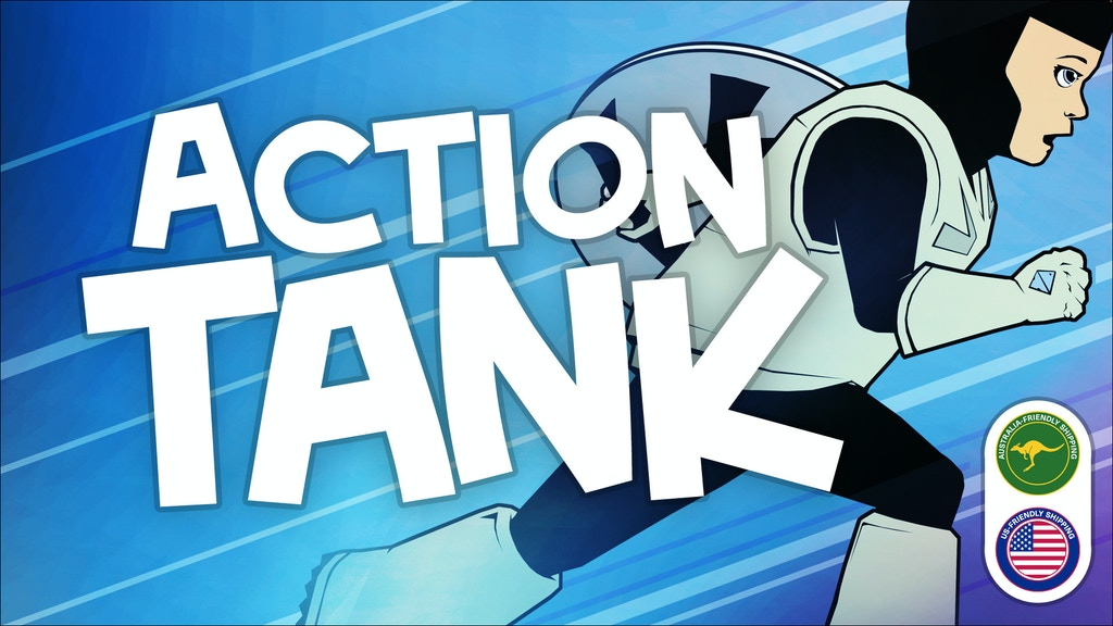 Action Tank - an amazing graphic novel for amazing kids project video thumbnail