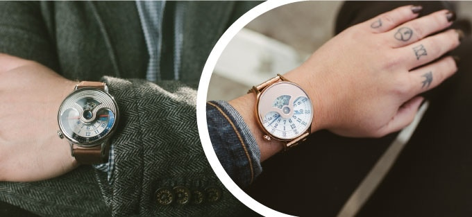 Unisex watch - case size is ideal for both men and women