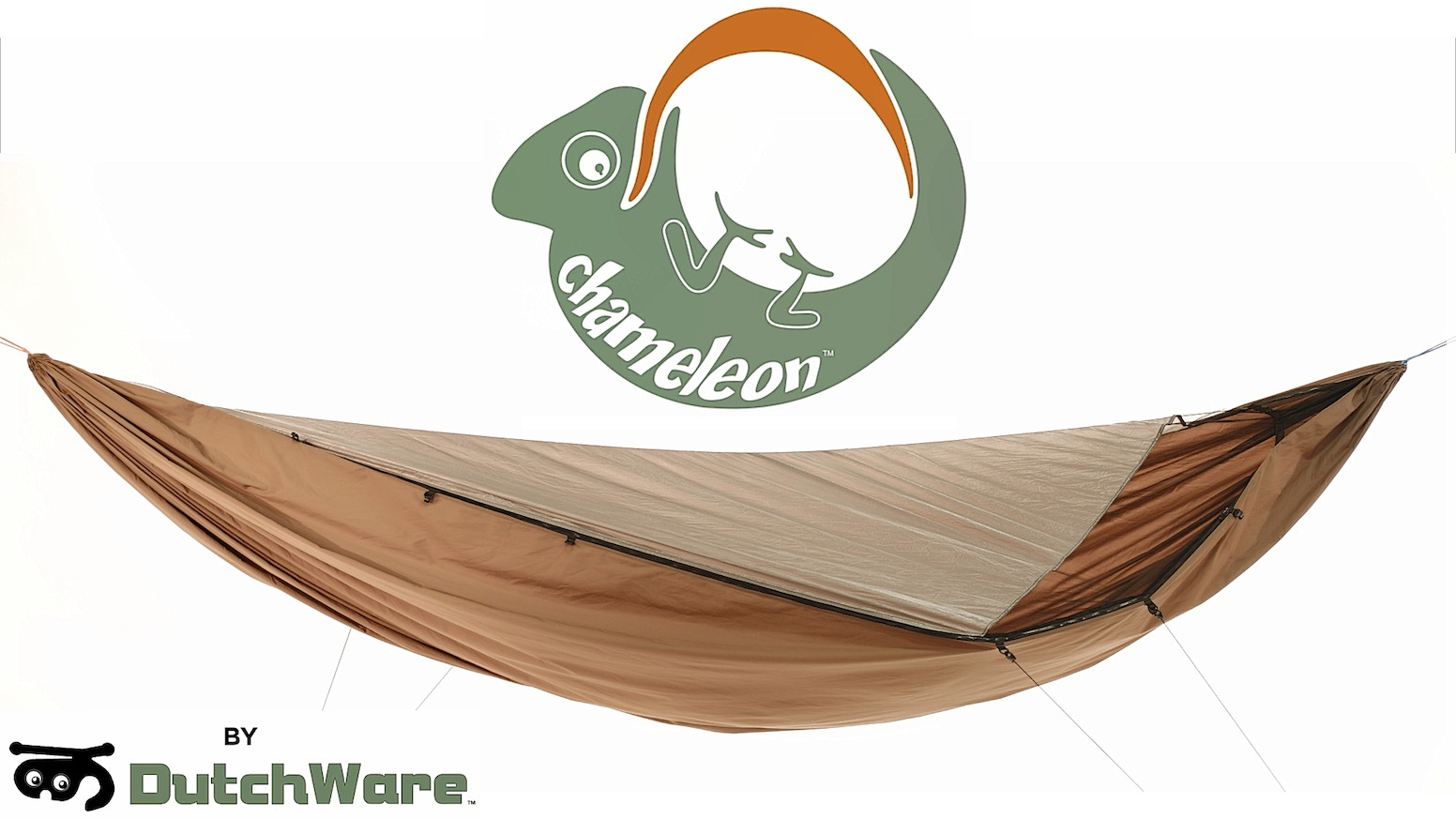 Developed by DutchWare to create a versatile and modular lightweight hammock that adapts to its environment.