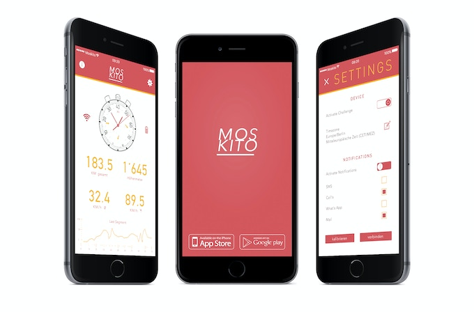 The Moskito App – Personalize your watch with many smart functions