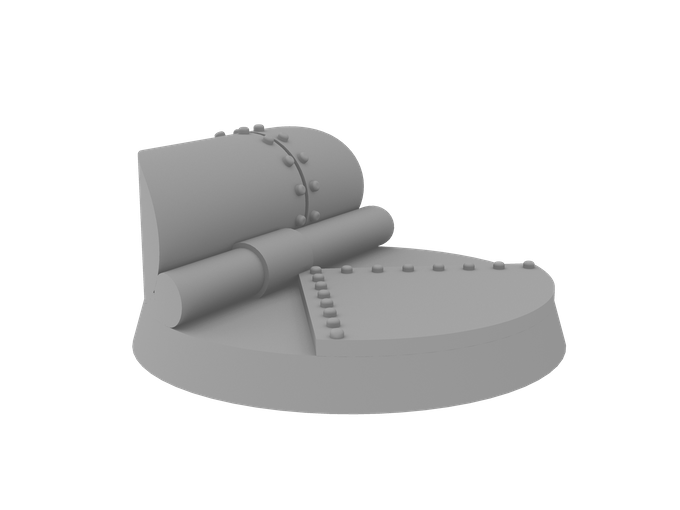 Colonel Zachariah's Custom Designed Base