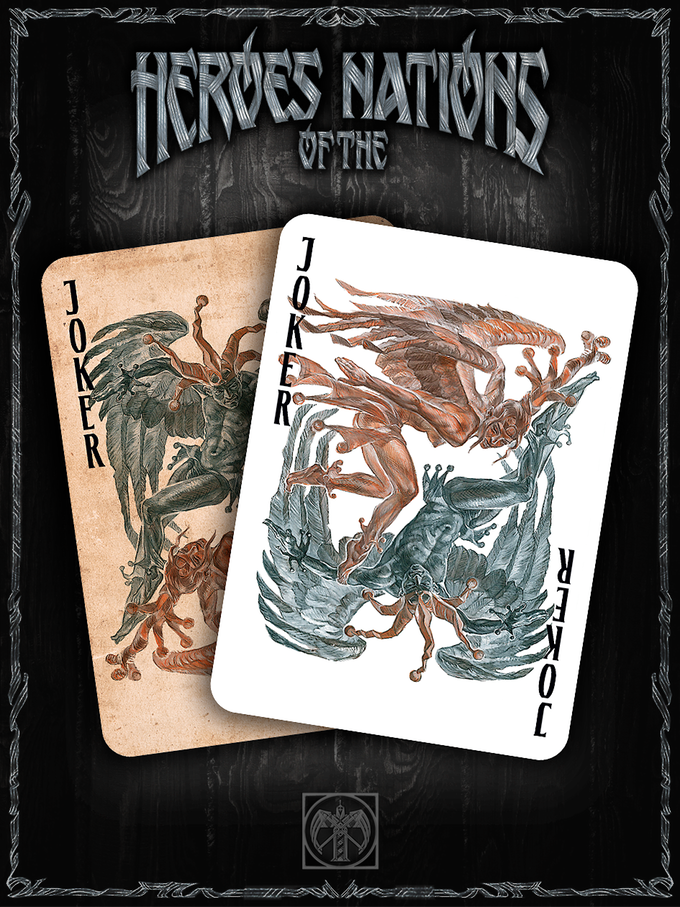 The Joker is unusual and mysterious character of the deck