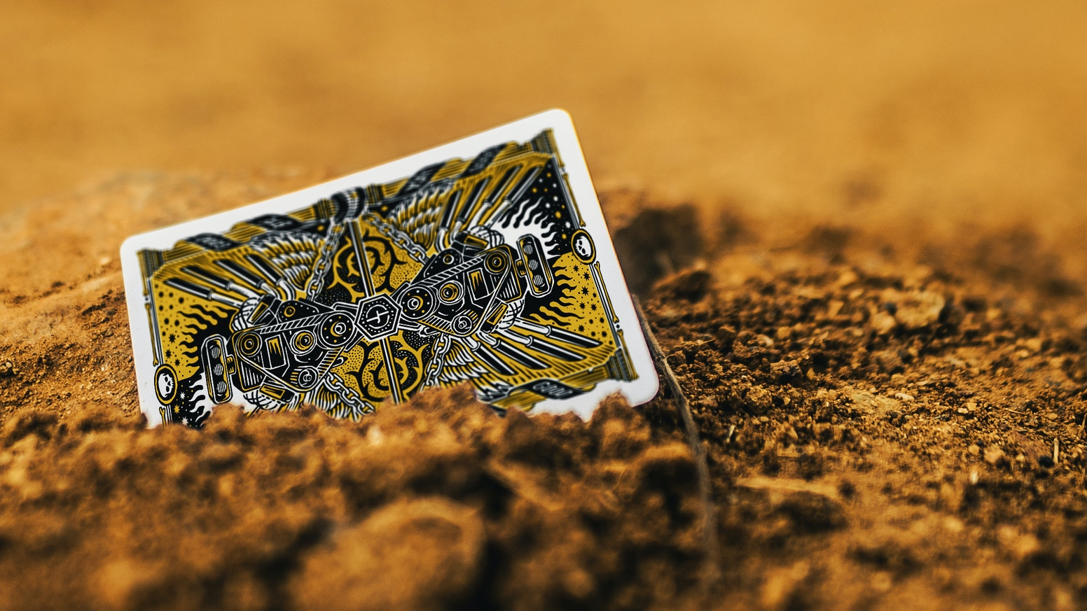 Premium high octane, apocalyptic playing cards. Inspired by Mad Max! 100% custom -  Intricately illustrated over a period of 12 months.